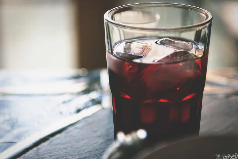Pomegranate Fizz Cocktail   Kita Roberts PassTheSushi.com
