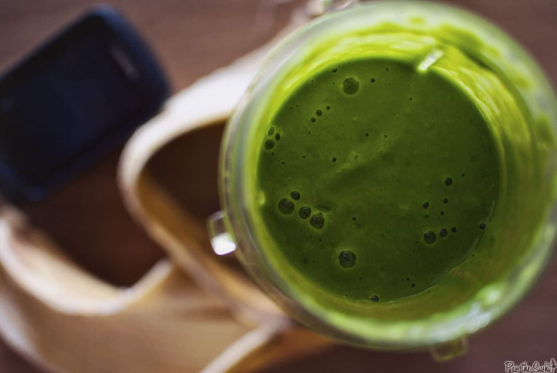 Spinach Smoothie | Kita Roberts PassTheSushi.com