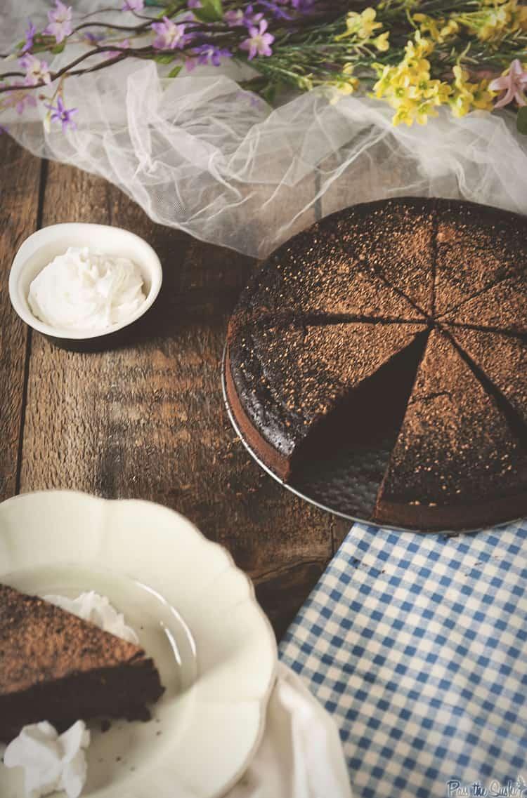Chocolate Whiskey Cake | Kita Roberts PassTheSushi.com