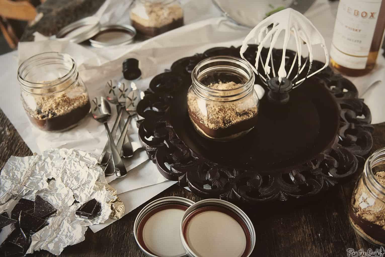Chocolate Whiskey Pudding | Kita Roberts PassTheSushi.com