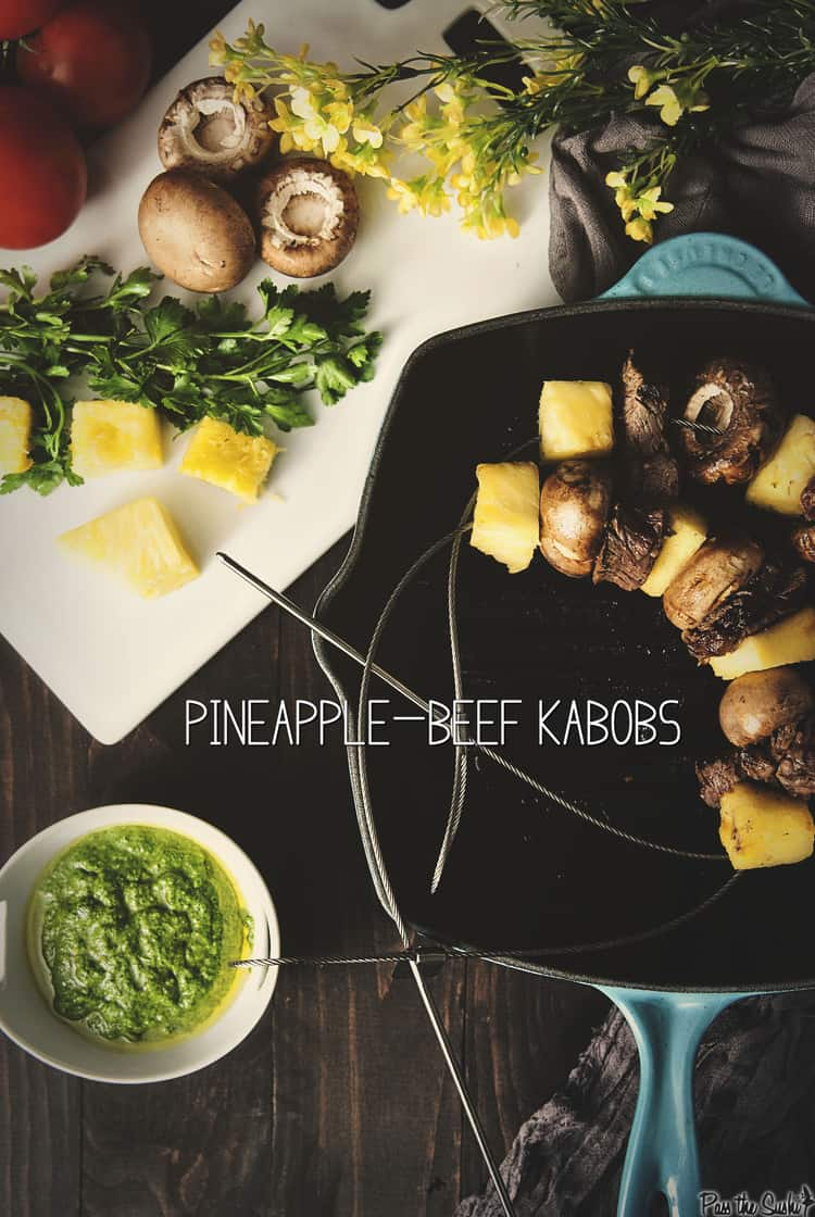Pineapple-Beef Kabobs | Kita Roberts PassTheSushi.com
