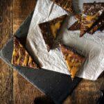 Salted Caramel Brownies \ PasstheSushi.com