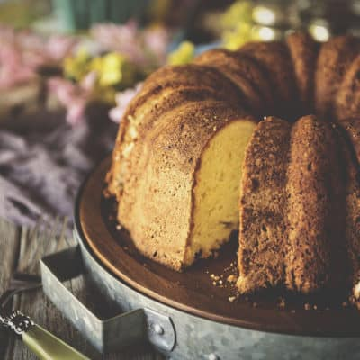 Rum Cake Recipe Handed down for Mother's Day #FlavorStory & Giveaway