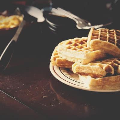 Simple Sunday Morning Waffle Recipe