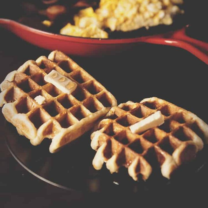 Sunday Morning Waffle Recipe | Kita Roberts PassTheSushi.com