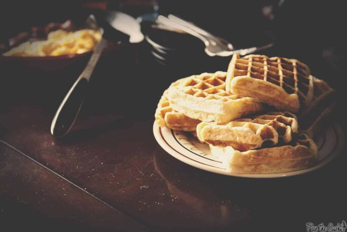 Sunday Morning Simple Waffles Recipe | Kita Roberts PassTheSushi.com