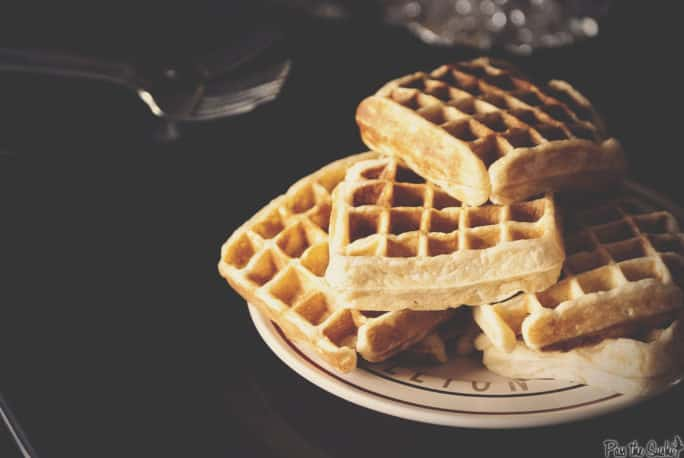 Simple Sunday Morning Waffle Recipe | Kita Roberts PassTheSushi.com