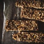 Chocolate Pretzel Granola Bars | PasstheSushi.com