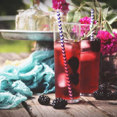 Rosemary Blackberry Cocktail