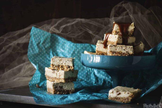 Bananas Foster Cheesecake Bars Recipe | Kita Roberts PassTheSushi.com