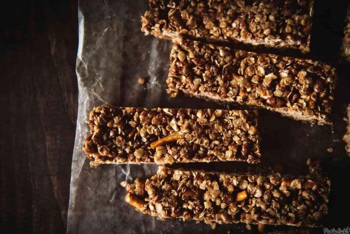 Chocolate Pretzel Granola Bars | Kita Roberts PassTheSushi.com
