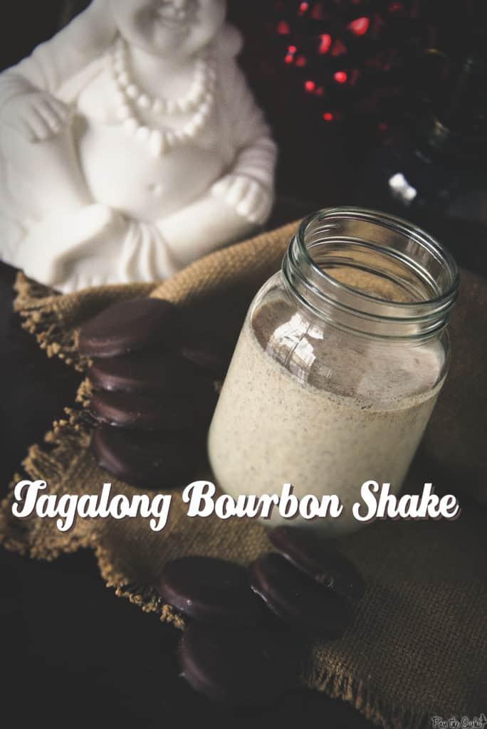 Tagalong Bourbon Shakes | Kita Roberts PassTheSushi.com