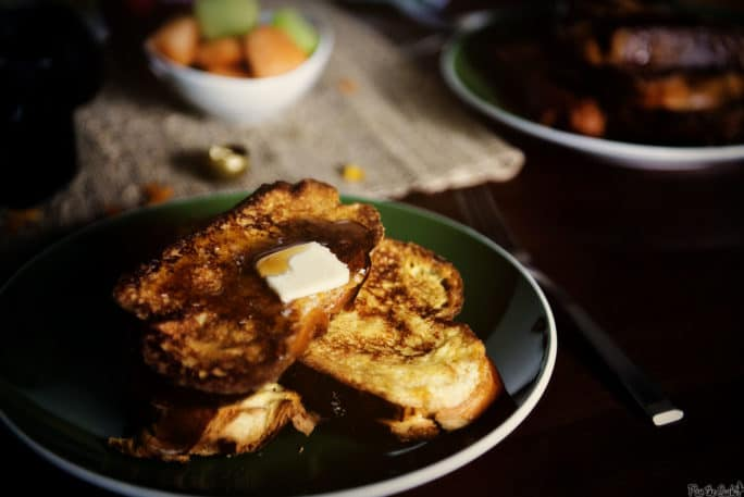 Vanilla French Toast | Kita Roberts PassTheSushi.com