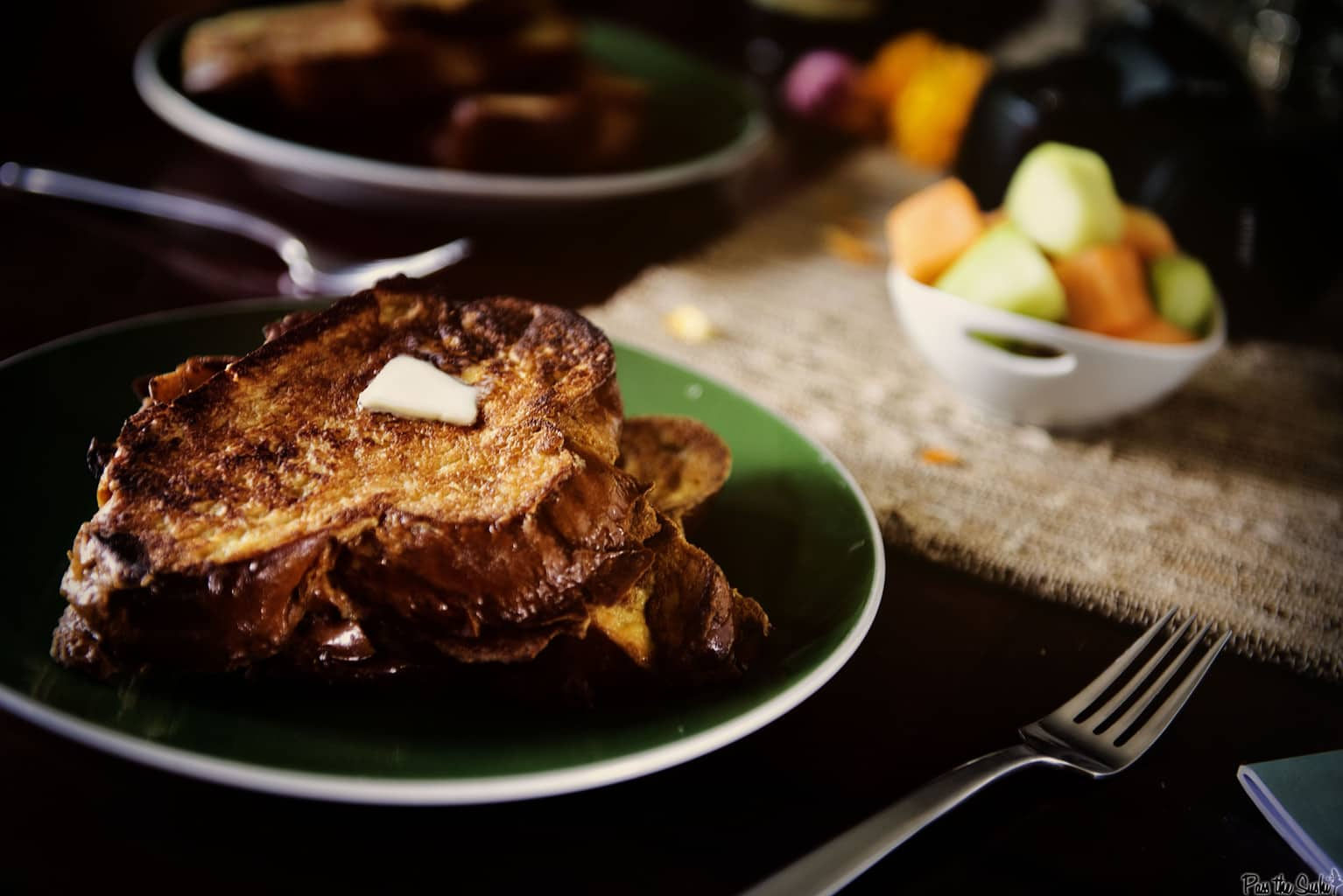 Vanilla French Toast   Kita Roberts PassTheSushi.com