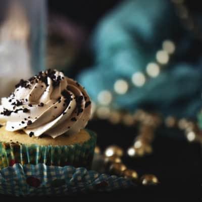 Spiked Mudslide Cupcakes