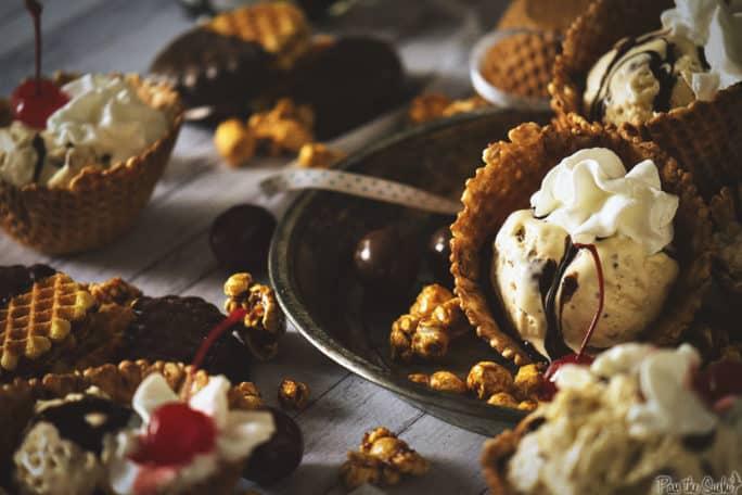 Bourbon Spiked Malted Milk Ice Cream | Kita Roberts PassTheSushi.com