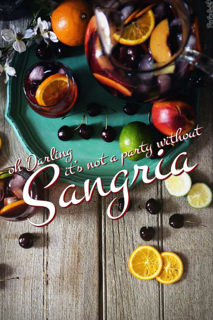 The Only Sangria Recipe You'll Ever Need | Kita Roberts PassTheSushi.com