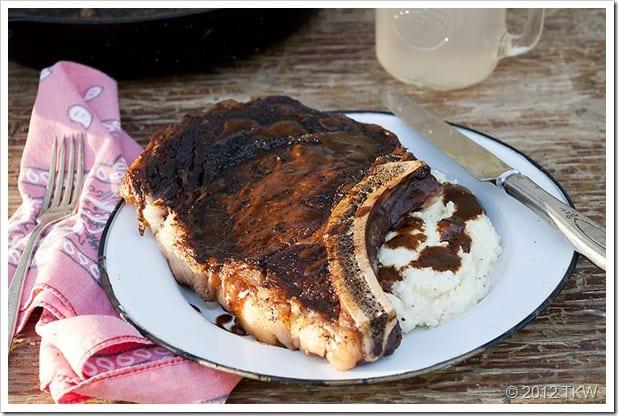 Cowboy-Steak-Cauliflower-Puree
