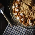 Fluffernutter Pie from PasstheSushi.com