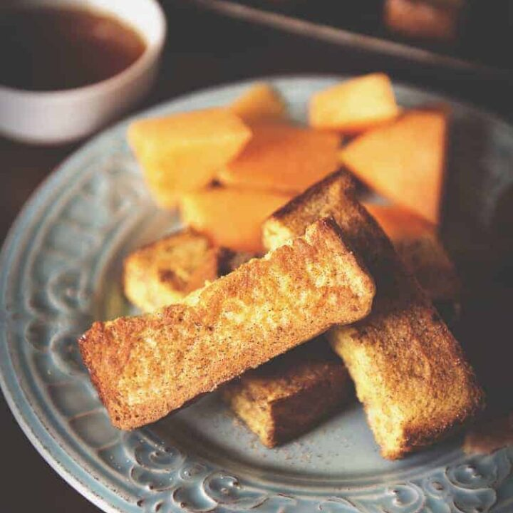 Baked French Toast Sticks | Kita Roberts PassTheSushi