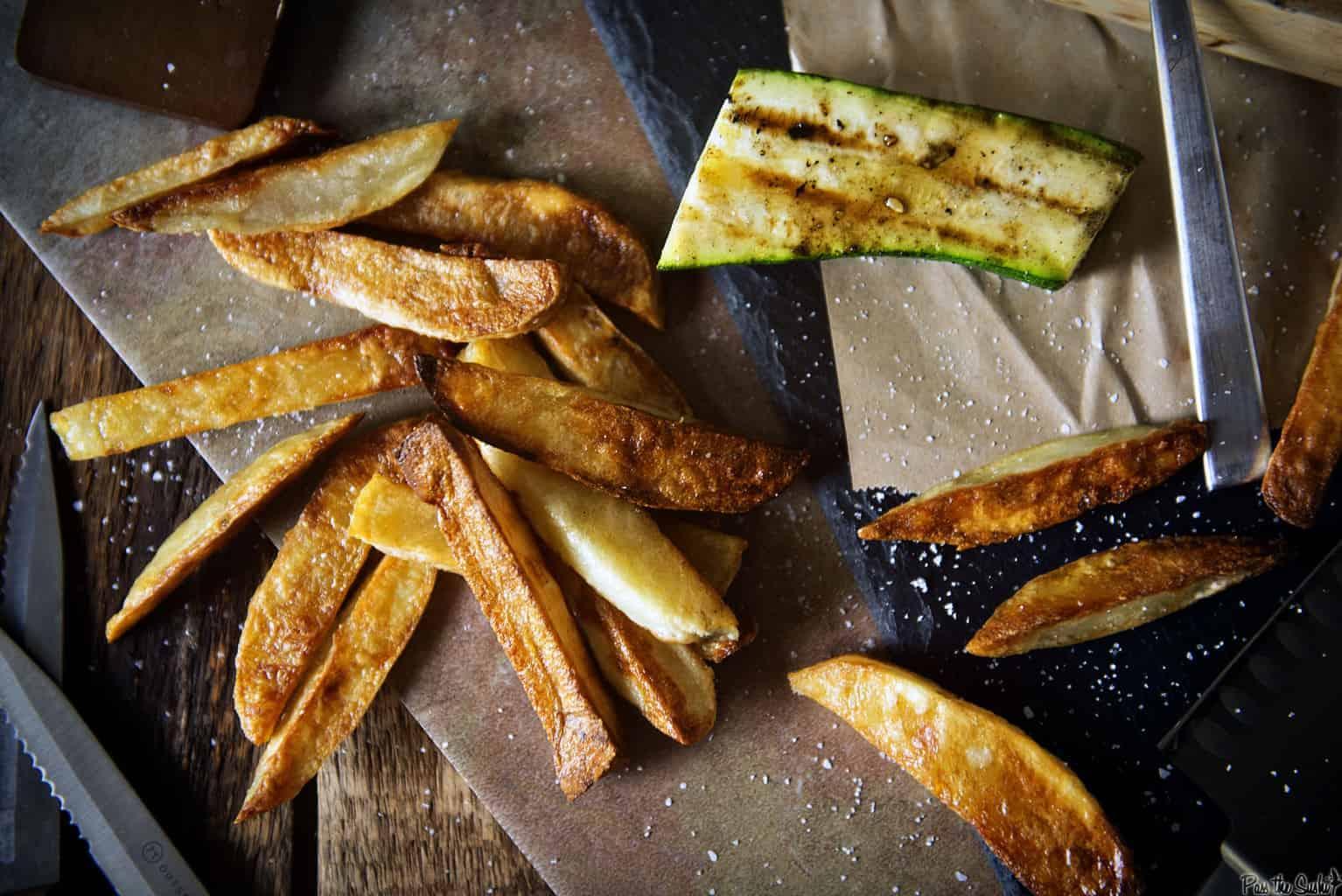 Crispy Oven Baked French Fries   Kita Roberts PassTheSushi.com