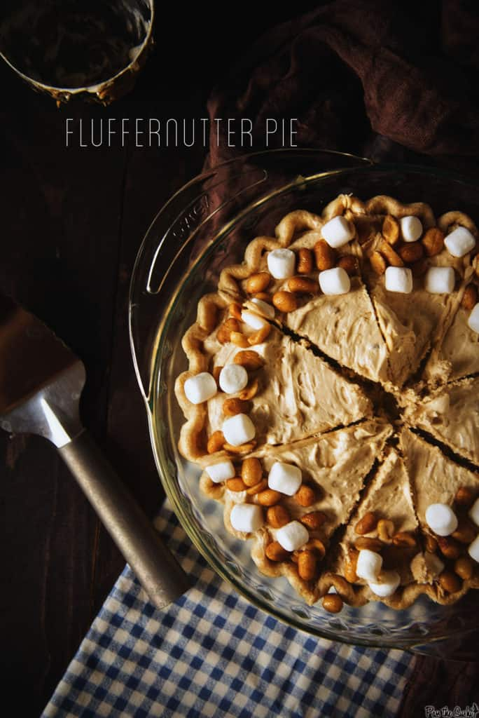 Fluffernutter Pie   Kita Roberts PassTheSushi.com