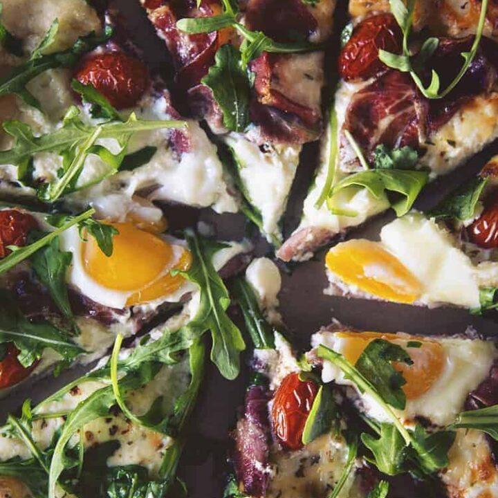 Breakfast Pizza | Kita Roberts PassTheSushi.com