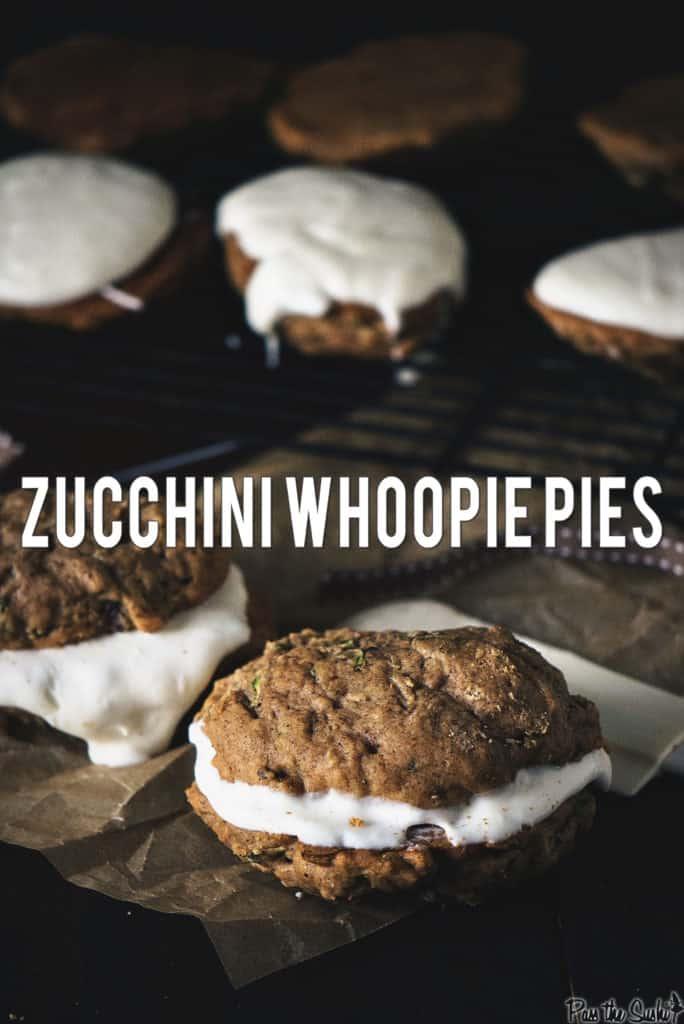 Zucchini Whoopie Pies | Kita Roberts PassTheSushi.com