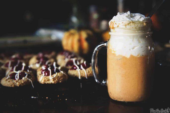 Boozy Sweet Potato Pie Milkshake | Kita Roberts PassTheSushi.com