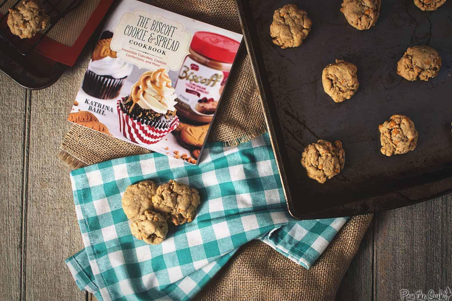 Butterscotch Biscoff Pudding Cookies | Kita Roberts PassTheSushi.com