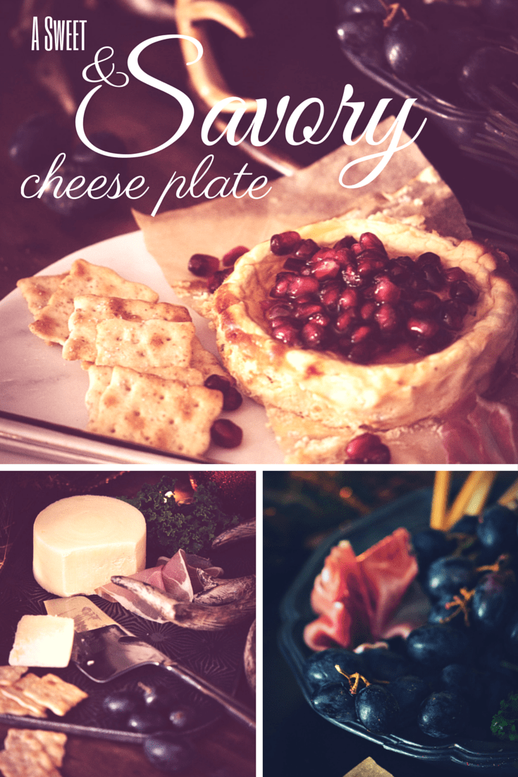 a sweet and savory cheese plate | PasstheSushi.com