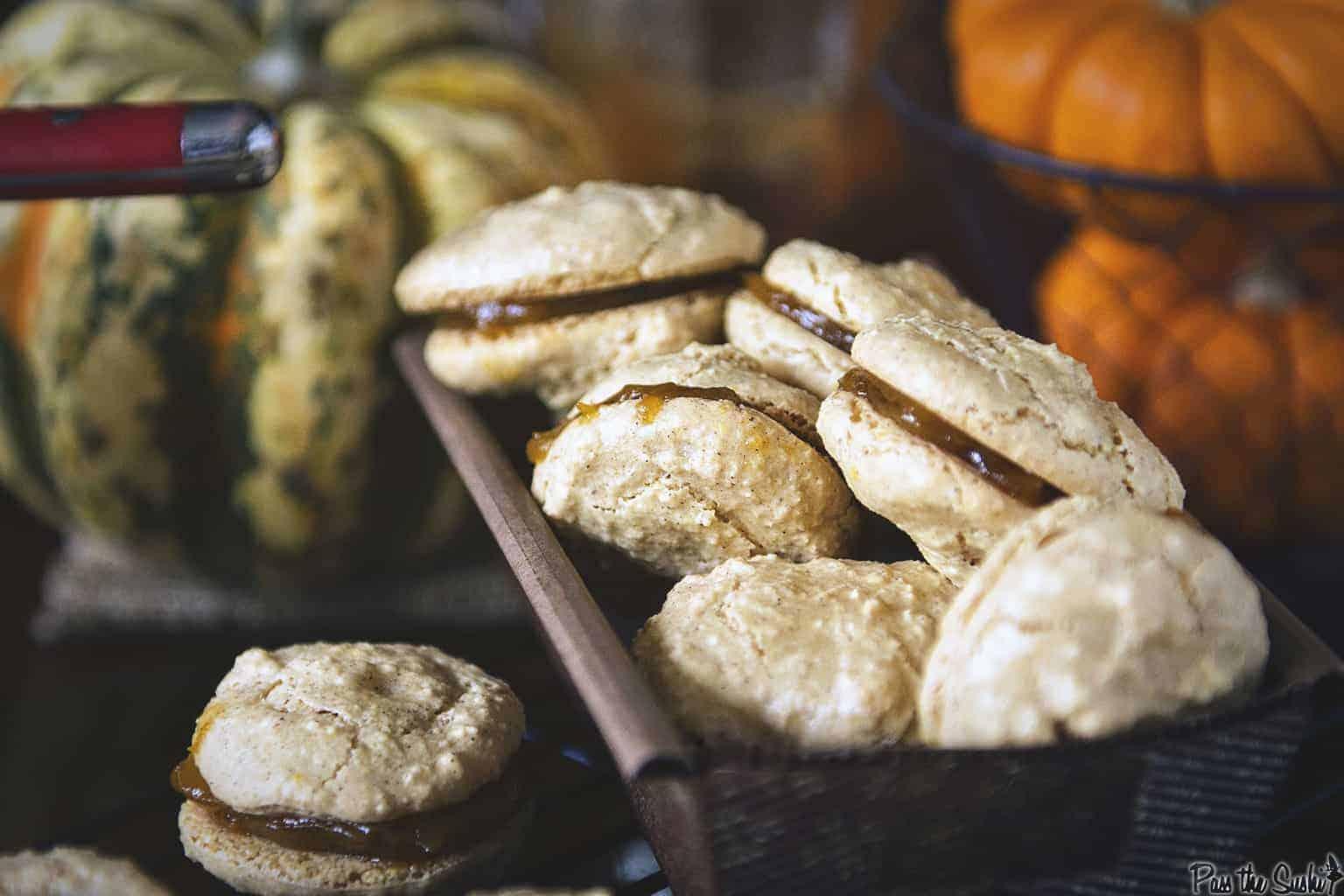 Pumpkin Spice Macaroons | Kita Roberts PassTheSushi.com