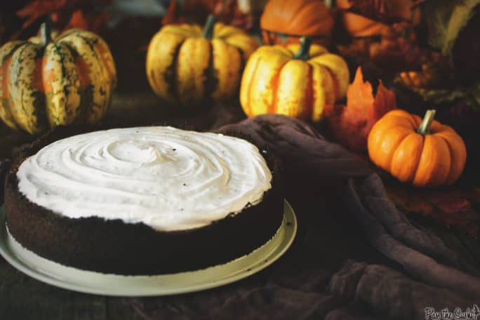 Sweet Potato Pie with Gingersnap Crust and Meringue | Kita Roberts PassTheSushi.com