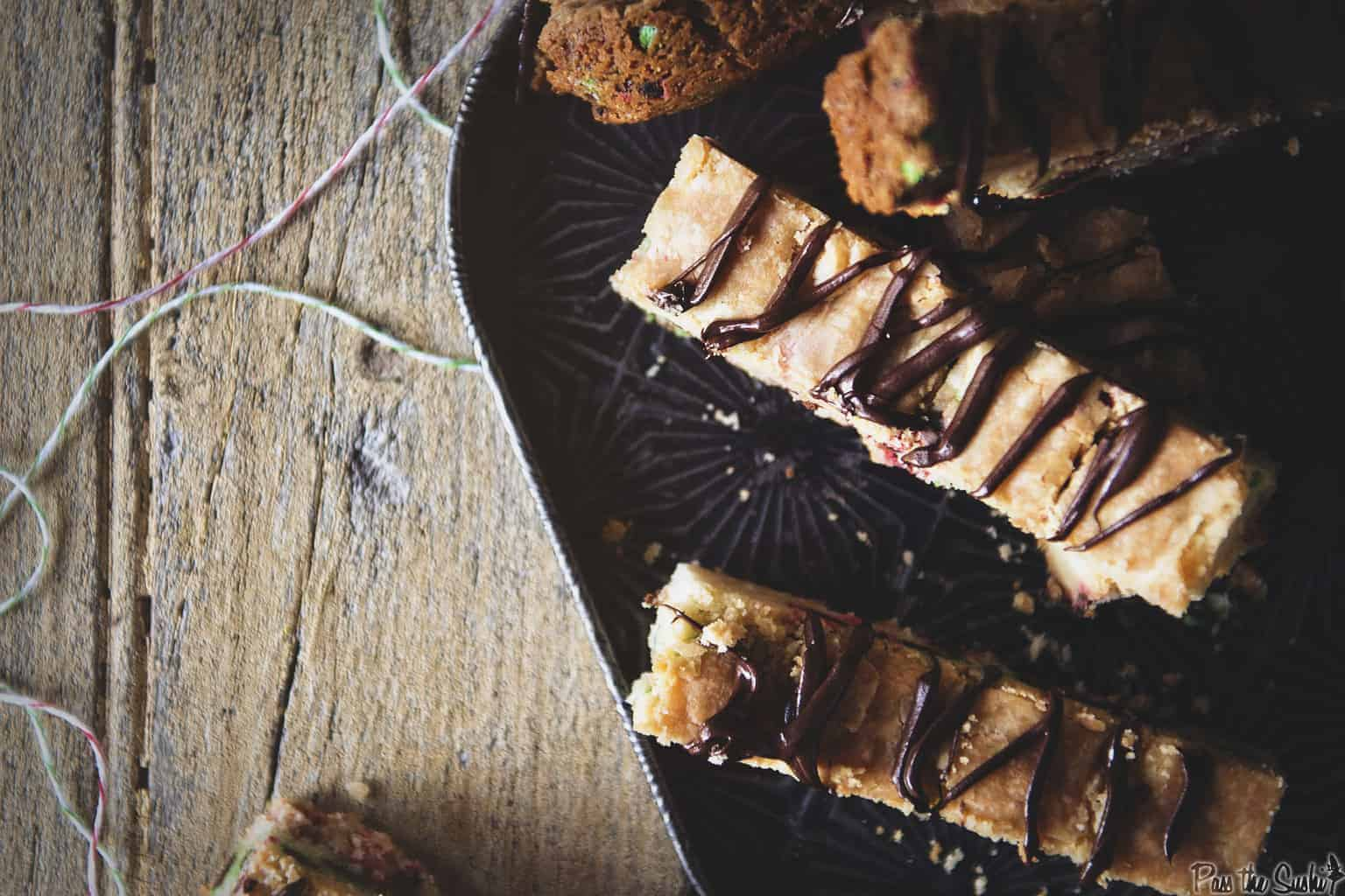 Chocolate Chip Shortbread Cookies | Kita Roberts PassTheSushi