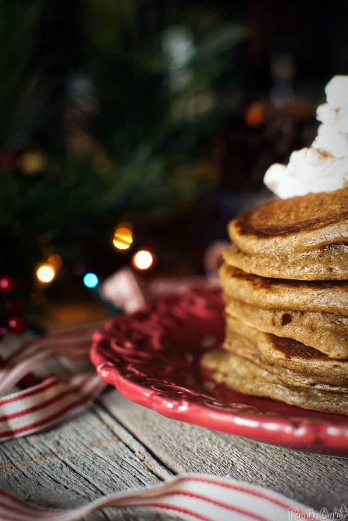 Gingerbread Pancakes   Kita Roberts PassTheSushi.com