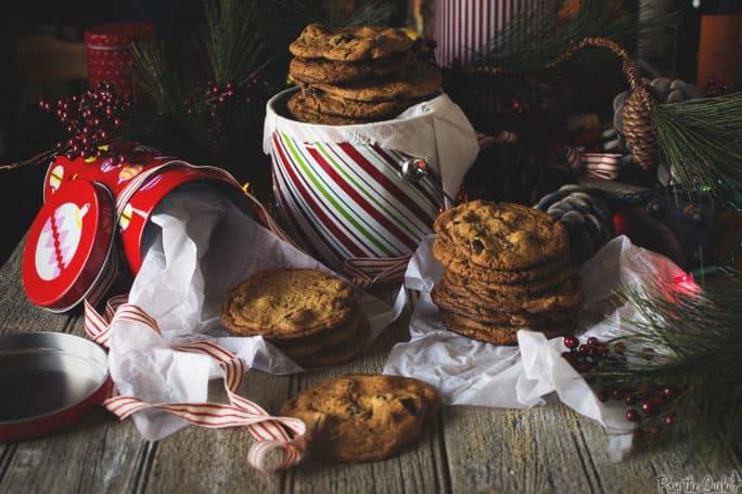 Peanut Butter Cookies with Chocolate Chunks | Kita Roberts PassTheSushi.com