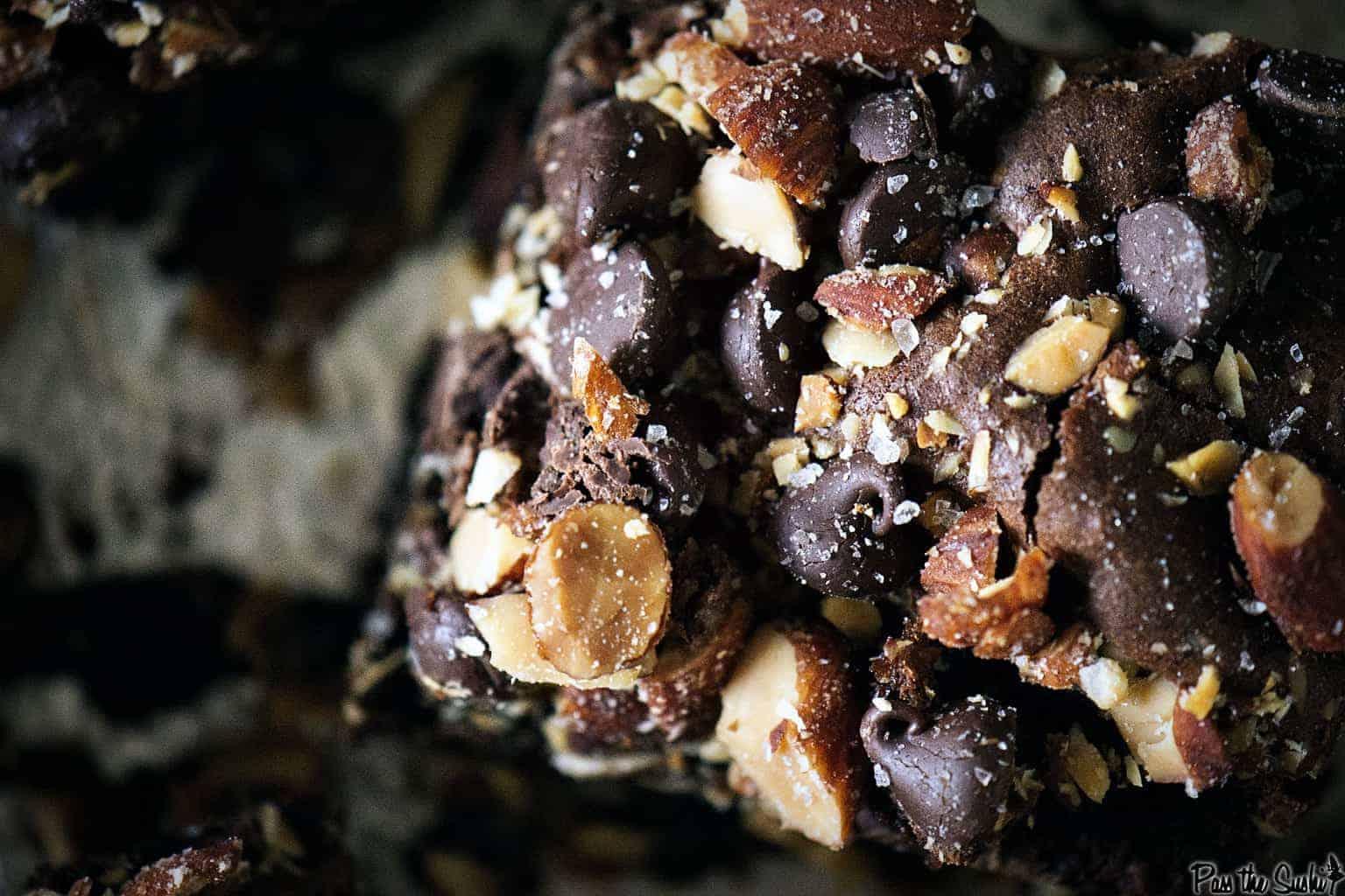 Smoked and Salted Almond Brownies | Kita Roberts PassTheSushi.com
