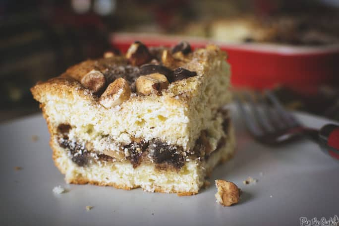 Chocolate-Cinnamon Coffee Cake   Kita Roberts PassTheSushi.com