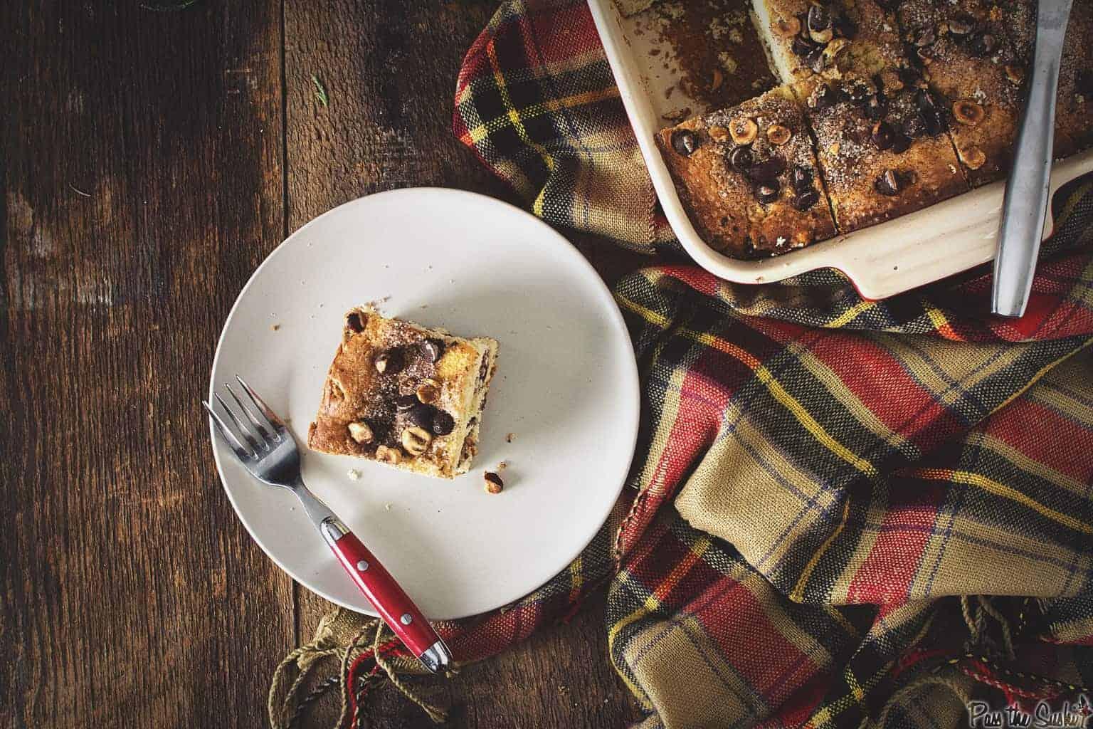 Chocolate-Cinnamon Coffee Cake | Kita Roberts PassTheSushi.com