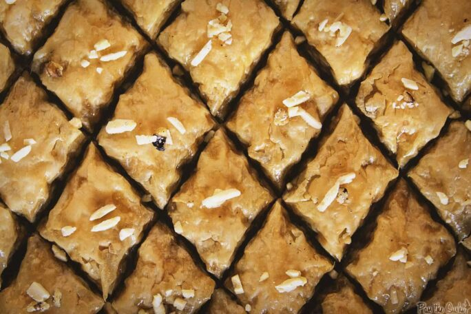 Classic Baklava | Kita Roberts PassTheSushi.com