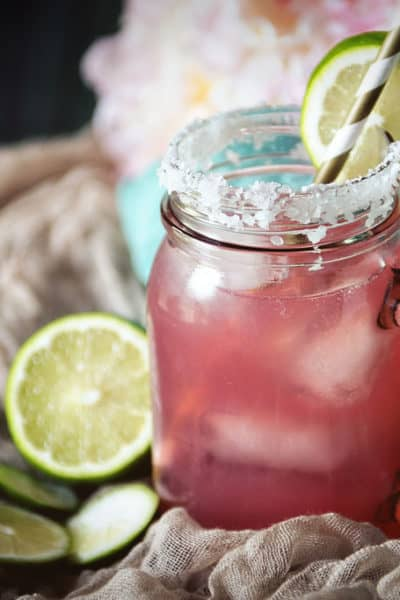 Cranberry Lemonade Margarita
