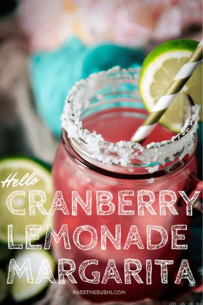 Cranberry Lemonade Margarita