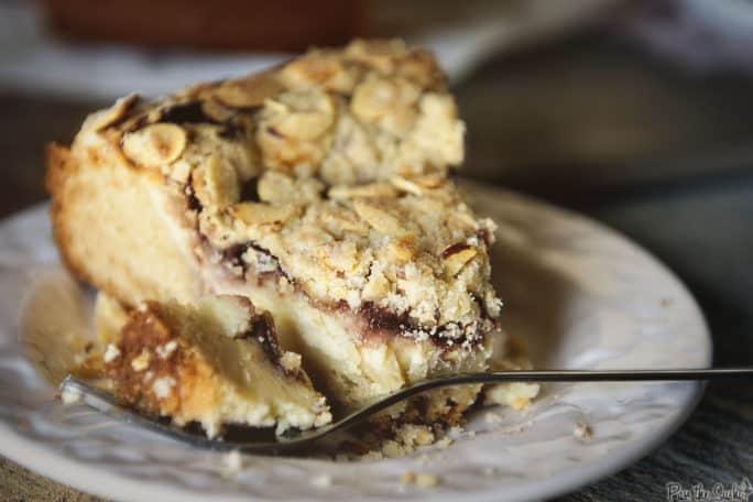 Raspberry Cream Cheese Coffee Cake | Kita Roberts PassTheSushi.com