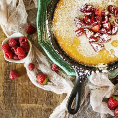 Skillet Puff Pancake Recipe