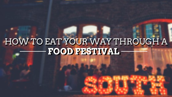 Eating your way through Greenville South Carolina's Food Festival!