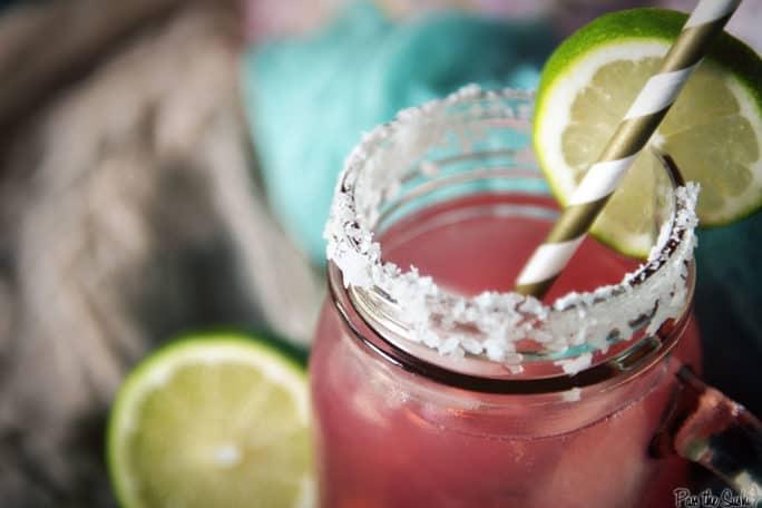Cranberry Lemonade Margarita | Kita Roberts PassTheSushi.com