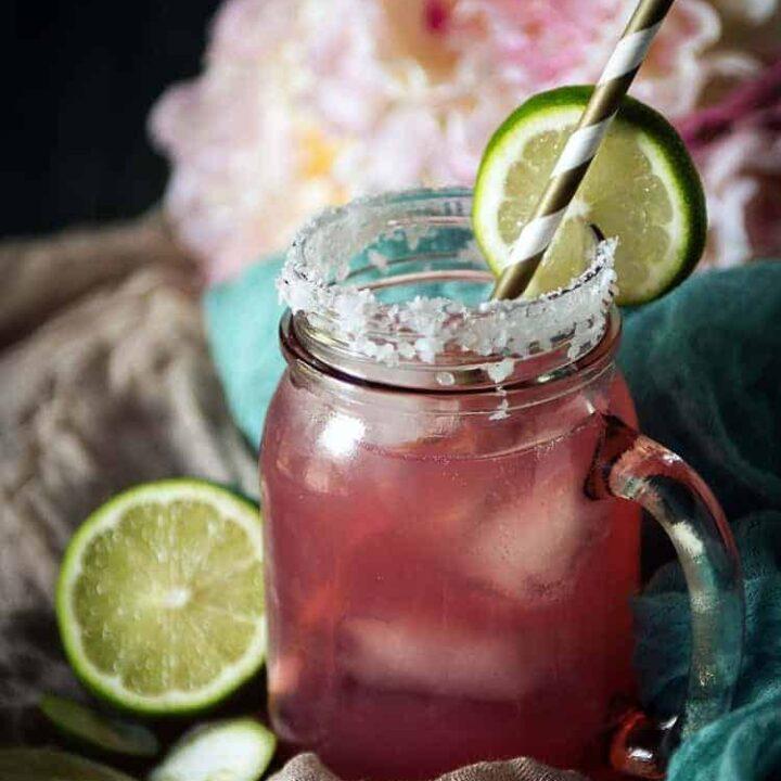 Cranberry Lemonade Margat