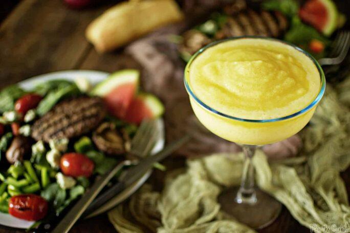 Fresh Pineapple Margaritas | Kita Roberts PassTheSushi.com