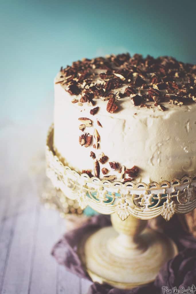 Hummingbird Cake Recipe | Kita Roberts PassTheSushi.com