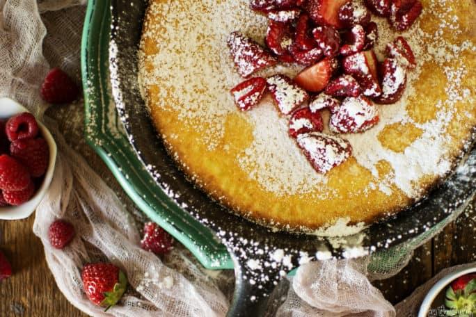 Skillet Puff Pancake Recipe   Kita Roberts PassTheSushi.com